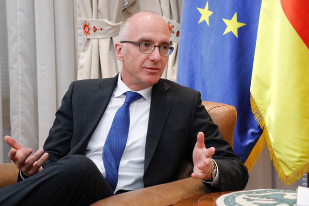 Германскиот амбасадор во Србија се надева дека Македонија ќе ги почне преговорите