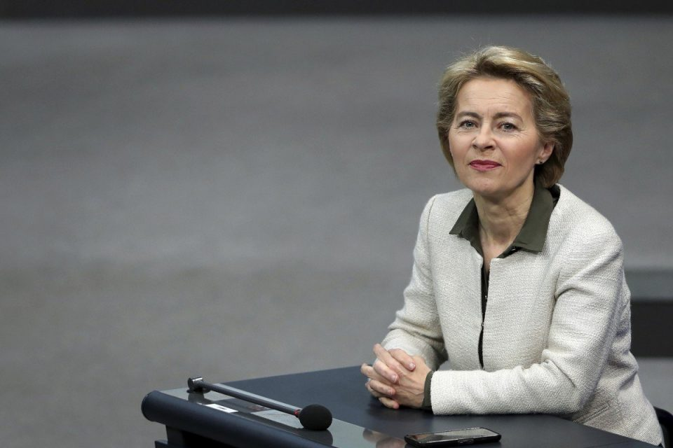 Урсула фон дер Лајен го состави тимот кој ќе раководи со Европската Комисија