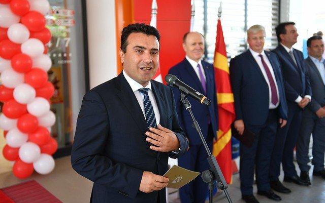 Заев е партнер на Русија: Нова бензинска станица се отвори во Арачиново