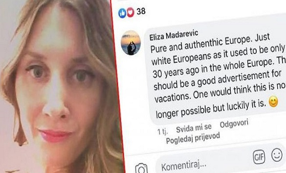 Хрватската дипломатка поради расистичките и ксенофобични коментари на Фејсбук е суспендирана и повлечена од Берлин