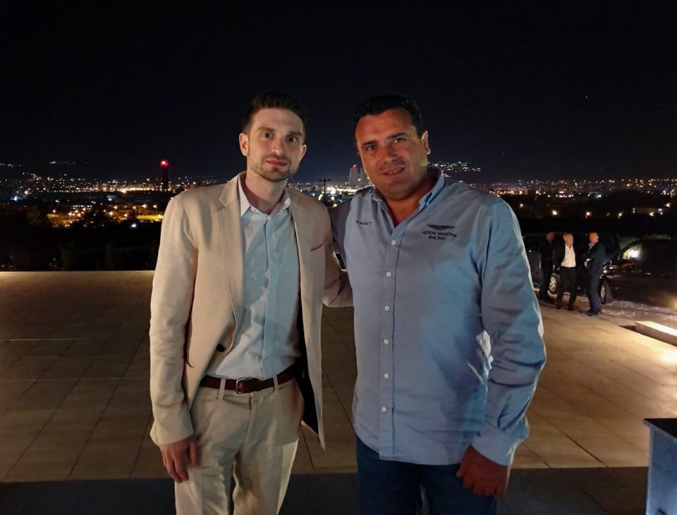 Александар Сорос на Твитер: Одлично поминато време со премиерот Заев, разговаравме за неискористениот економски потенцијал