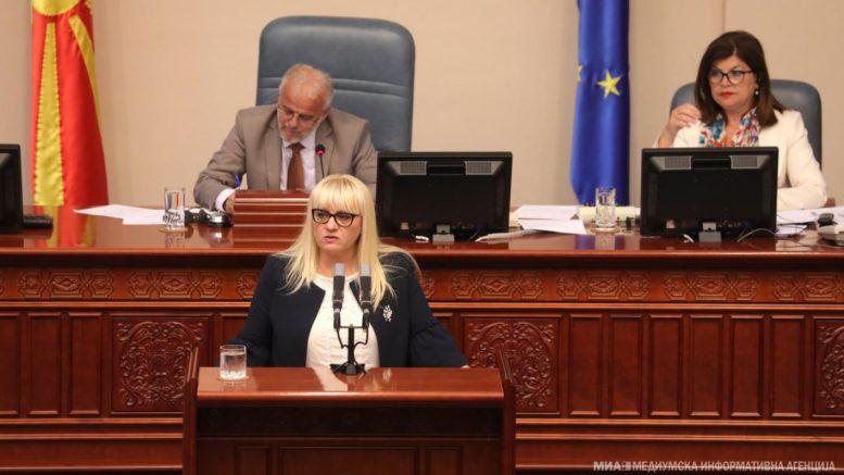Дескоска нема да го образложува законот за обвинителство: Сака да заштеди време