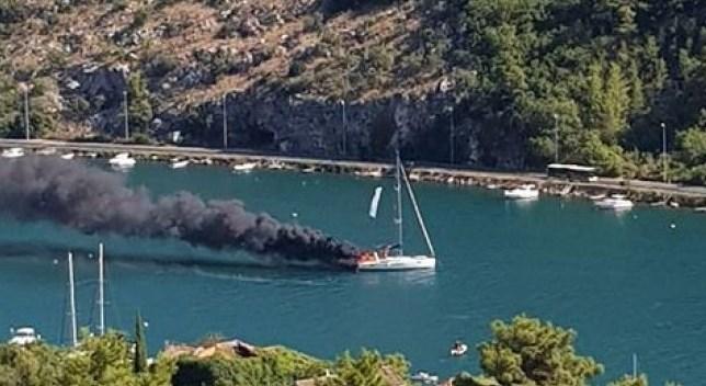 (ВИДЕО) Се запали едрилица во Дубровник