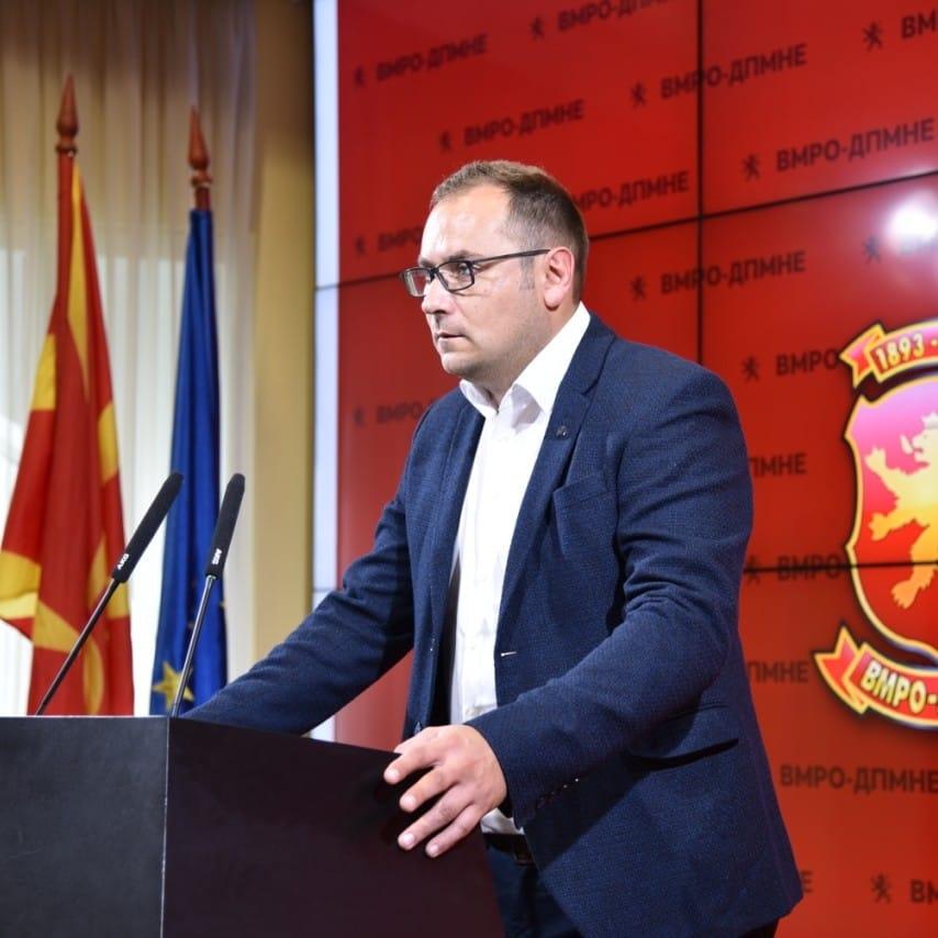 Здравковски: Откако СДСМ го презеде Велес, Св. Пантелејмон го направија само еден обичен ден