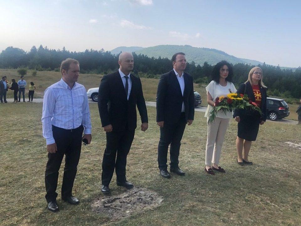 Николоски од Крушево: Аманет од востаниците е наша должност да ја сочуваме и почитуваме Македонија