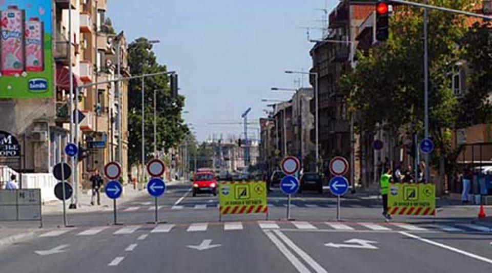 Посебен сообраќаен режим утре во Скопје