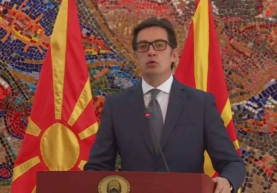 Претседателот Пендаровски во 14:00 часот ќе и се обрати на нацијата