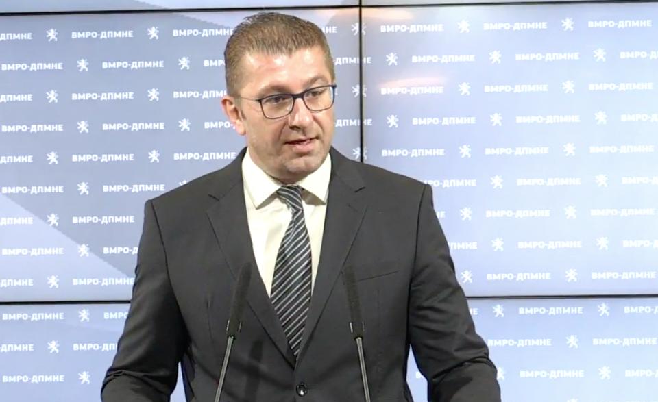 Мицкоски: СДСМ шири лаги од епски размери – Заев не сакаше да се постигне договор