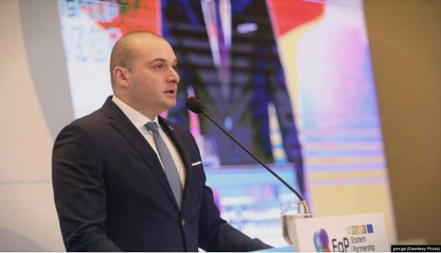 Грузискиот премиер поднесе оставка