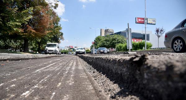 """Завршена реконструкцијата на булеварот """"Кочо Рацин"""" во Центар"""