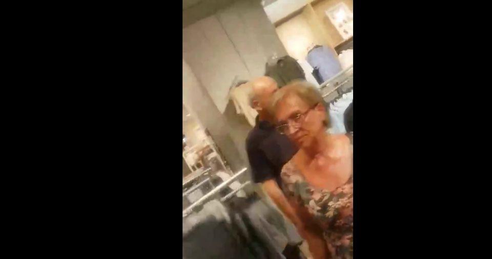 (ВИДЕО СНИМКИ) Јовески со активистка на СДСМ си купува фармерки во Солун!