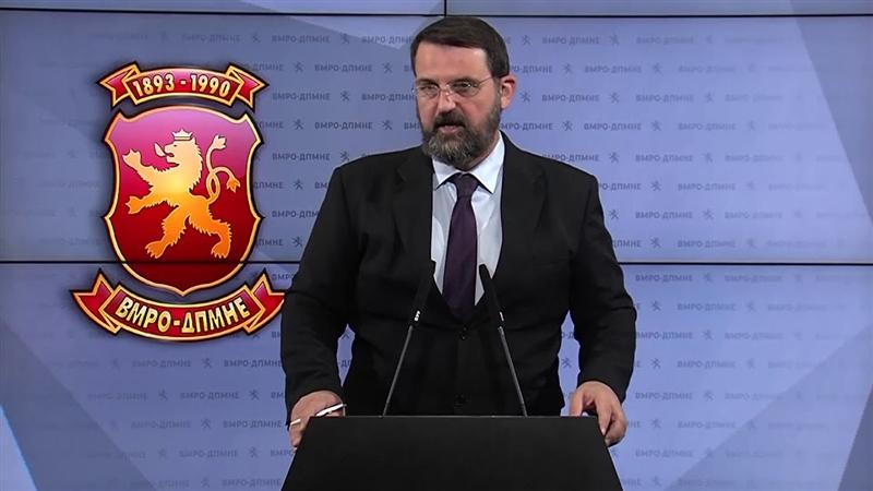 """Стоилковски: Одговорност за """"Рекет"""" ќе има кога СДСМ ќе изгуби на избори"""