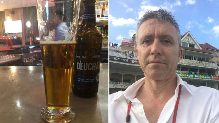 Новинар за едно пиво платил 55.000 фунти