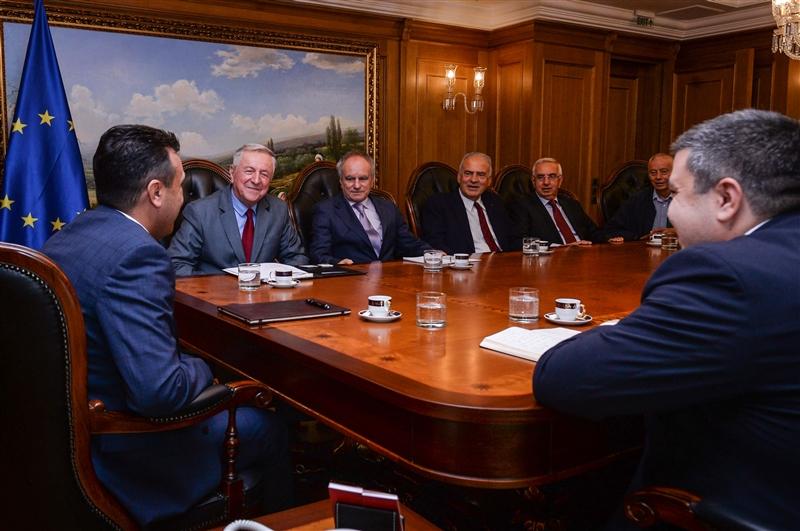 Заев се сретна со претставници на Советот на амбасадори