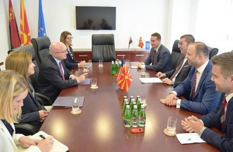 Мицкоски: Меѓународната заедница и ВМРО-ДПМНЕ имаат одлична соработка