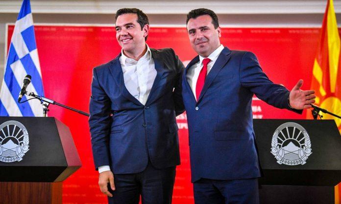 На годишнината од неуспешниот референдум, Ципрас пристигна во македонската Влада