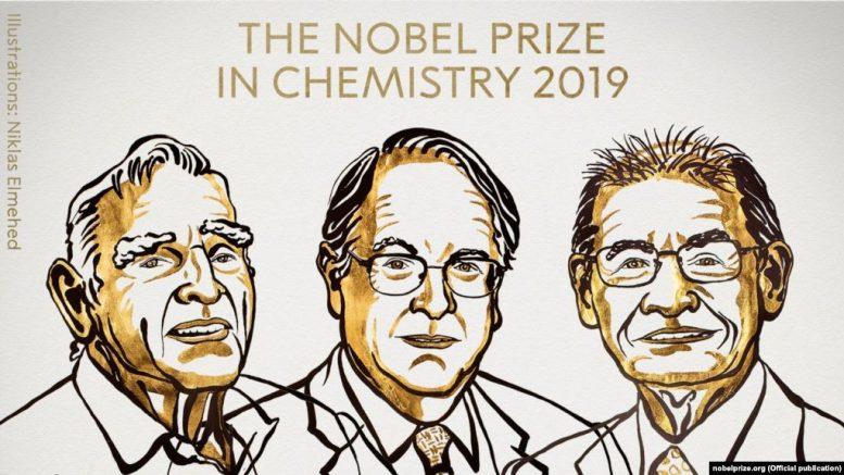 Нобеловата награда за хемија доделена на истражувачите на литиум-јонски батерии