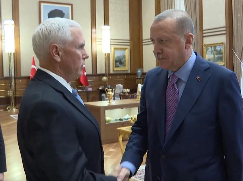 Пенс и Ердоган се договорија за привремен прекин на турските воени дејствија на северот од Сирија