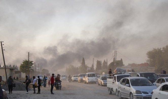 Турција започна воена офанзива во северна Сирија