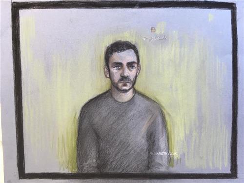 """Возачот на """"камионот на смртта"""" се појави на суд, без емоции одговори само на три прашања"""