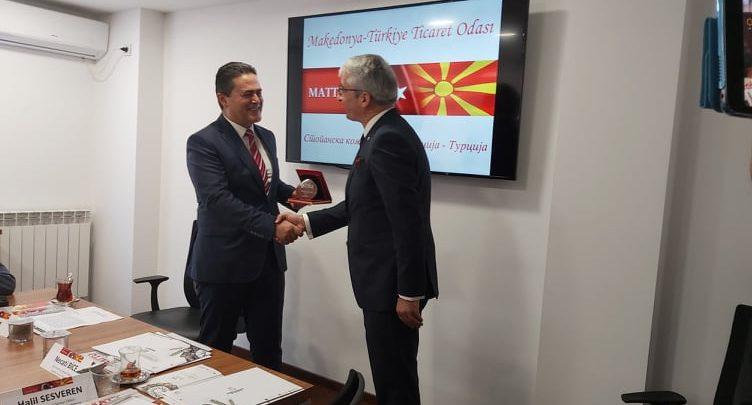 Турски производители и трговци барат партнери во земјава