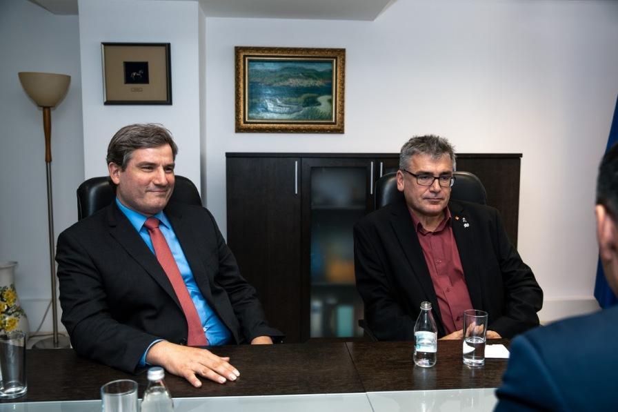 Евроинтеграциите тема на разговор на Димитров и германските пратеници Мeтин Хакверди и Кристиан Петри