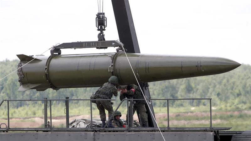 Масовна воена вежба на руските стратегиски нуклеарни сили