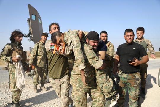 Двајца сириски војници загинале во гранатирања на турските сили на североистокот од Сирија