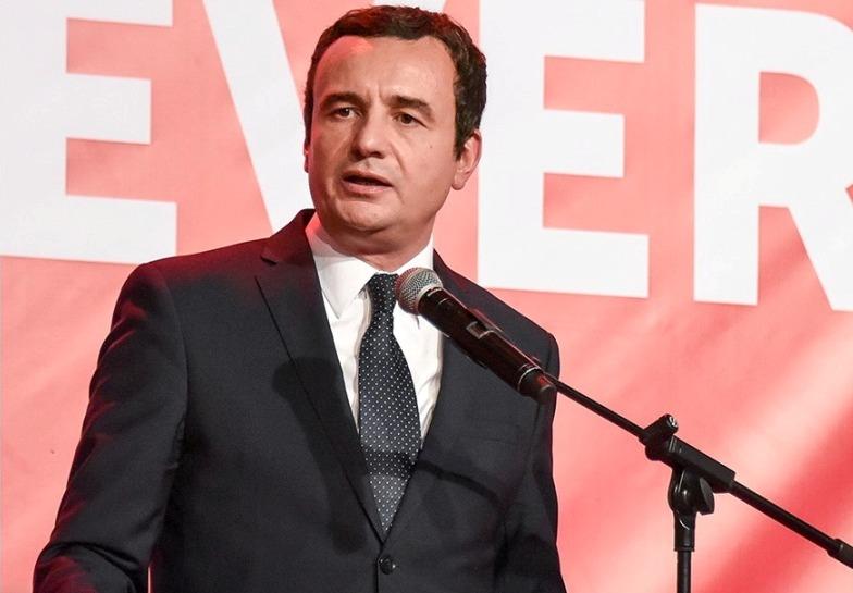 """Курти кандидатот за премиер на Косово ќе прави """"Голема Албанија"""""""