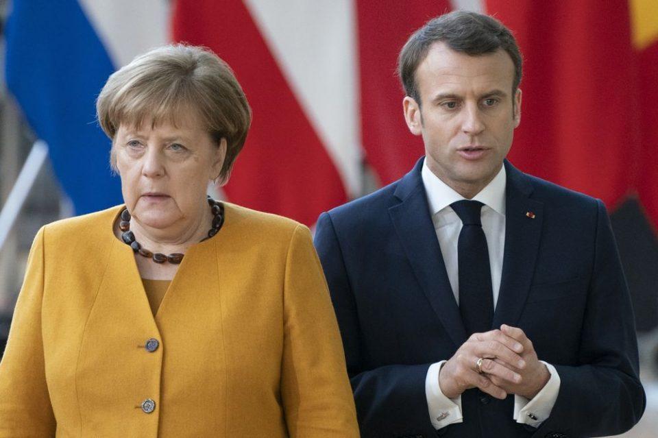 Макрон – Меркел: Подготвени за поддршка на Србија и Косово во наоѓање решение