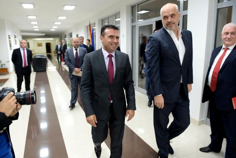 Трилатерален состанок Вучиќ, Заев и Рама во четврток
