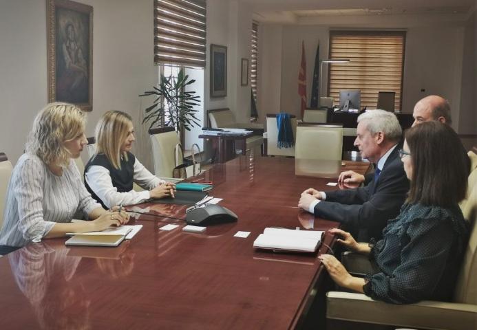 Средба Ангеловска – Герберих: Соработката со Германија ќе се продлабочи особено на економски план