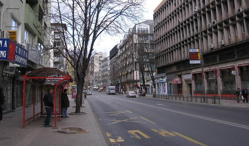 Центарот на Скопје блокиран – протестираат вработените од Охис