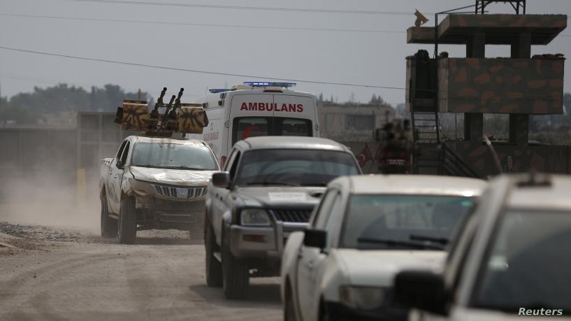 Турција сака сириските сили да ги напуштат граничните области за да може да врати два милиони бегалци