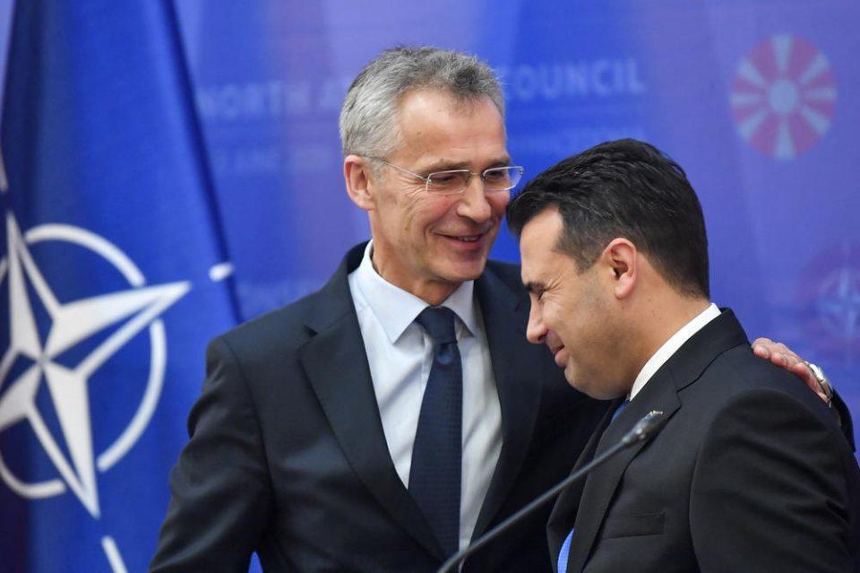 Столтенберг: Со нетрпение ја очекуваме Северна Македонија во НАТО