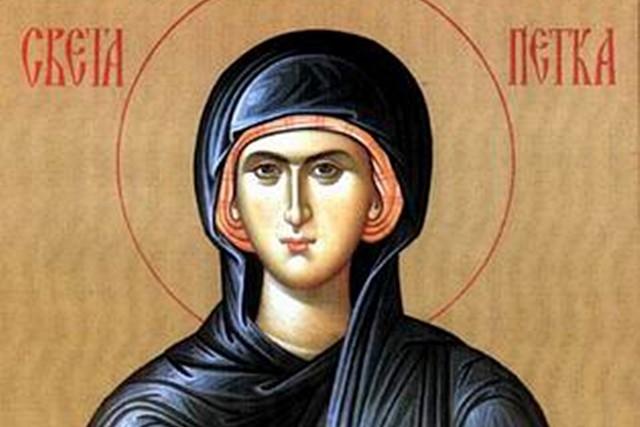 Денеска е Света Петка – Петковден