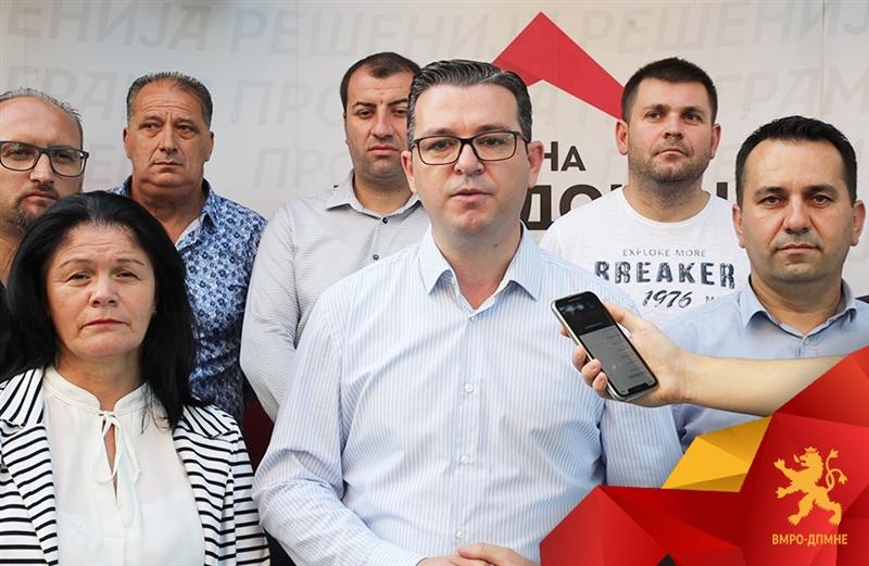 Трипуновски: ВМРО-ДПМНЕ било и ќе остане меѓу граѓаните