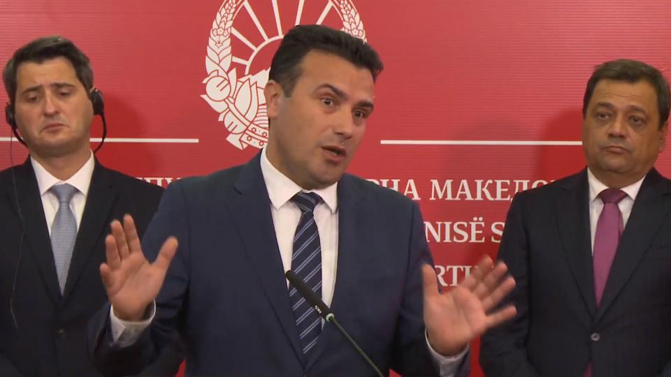Заев најави: Ременски ќе биде времено отстранета