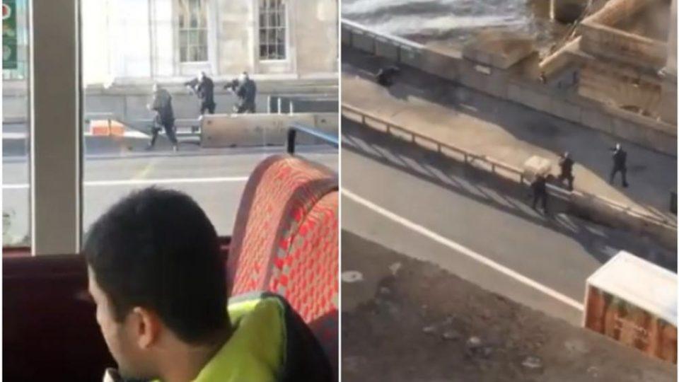(ВИДЕО) Инцидентот во Лондон поврзан со тероризам, еден застрелан