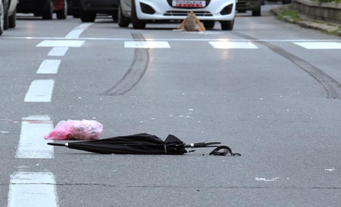 Жена со автомобил удрила пешак на паркинг во Скопје и избегала