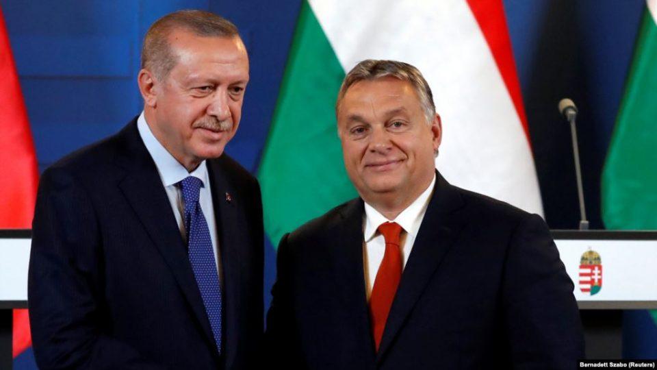 Ердоган во Будимпешта на средба со Орбан