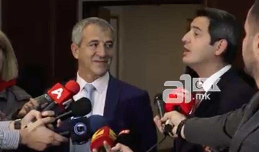 (ВИДЕО) Министерот Нуредини немал време да зборува за загадувањето