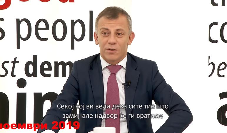 (ВИДЕО) Министерот Адеми призна дека премиерот Заев лаже