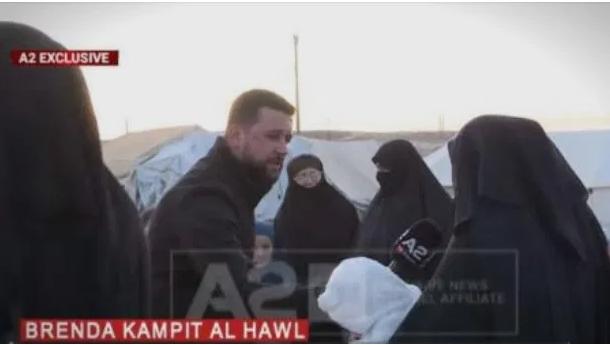 Албанка од Македонија која е во Сирија бара со 6-те деца да се врати во Македонија