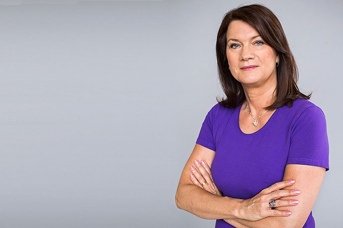 Шведската министерка за надворешни Ан Линде во Македонија