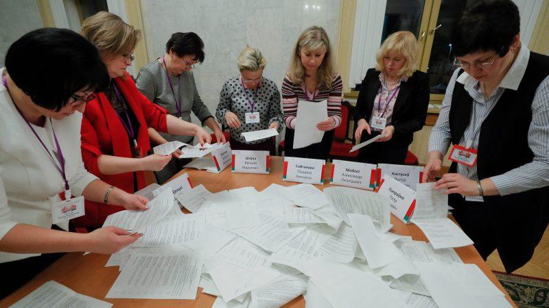 На изборите во Белорусија не е избран ниту еден опозициски пратеник