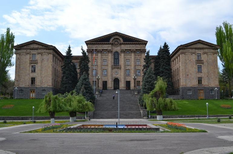 Пожар во Националното собрание на Ерменија