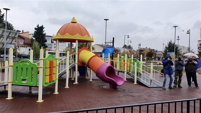 Милевски: Конечно Влае  доби инклузивното игралиште на површина од 450 метри квадратни