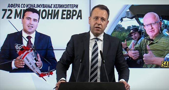 Јанушев: Заев и Рашковски се летнати во облаци, зајдоа во криминал и корупција па уште хелихоптери им фалат