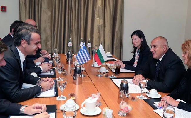 Мицотакис и Борисов на средба за европската перспектива на Балканот